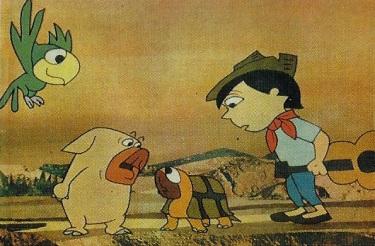 Piconzé com seus amigos heróis